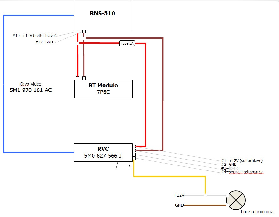 bfa4b06s 960 diy installing oem rear view camera (first part) ���������� vw rcd 510 wiring diagram at gsmportal.co