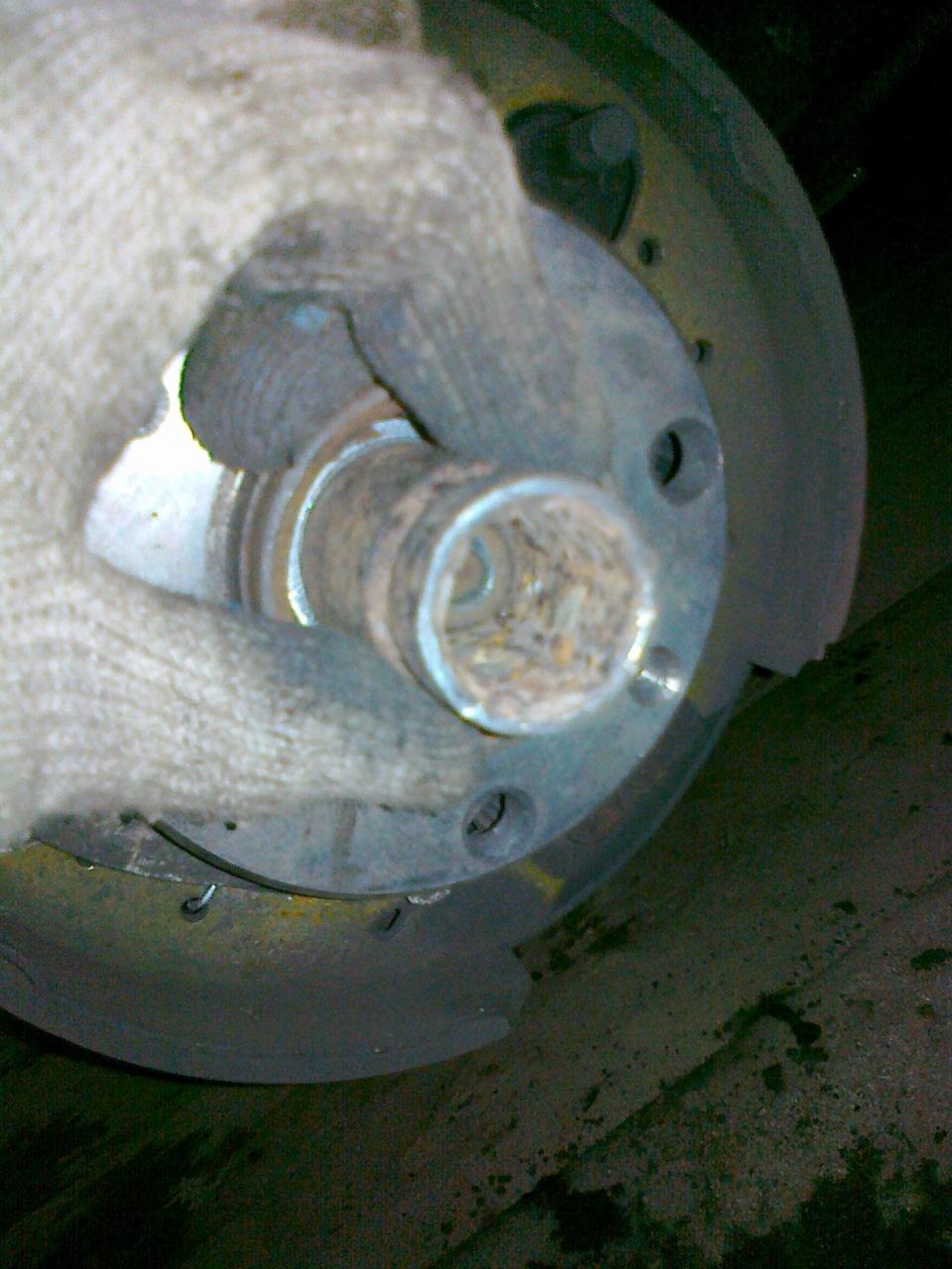 Замена заднего подшипника ступицы на ВАЗ 2110 своими руками 34
