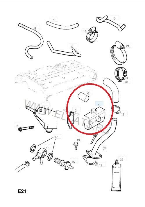 вентиляция картера двигателя опель омега