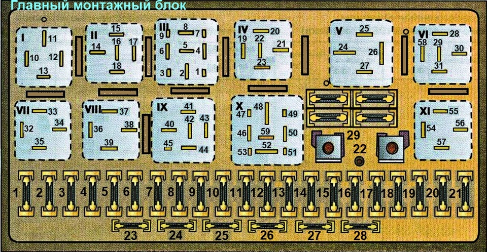 схема электрооборудования ауди 80 б3