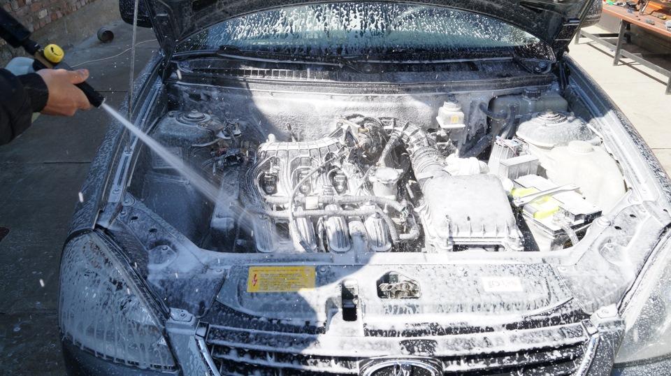 Мойка двигателя приоры своими руками 98