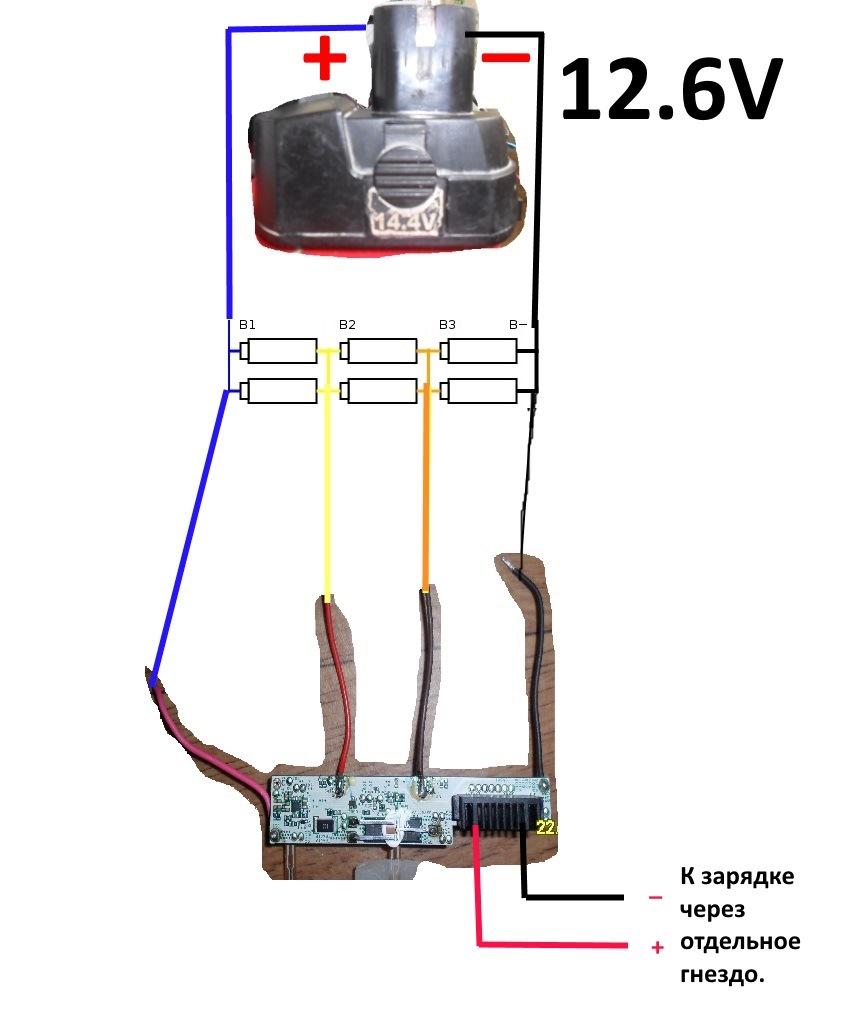 Аккумуляторы 18650 от батарей ноутбуков Bfcf032s-960