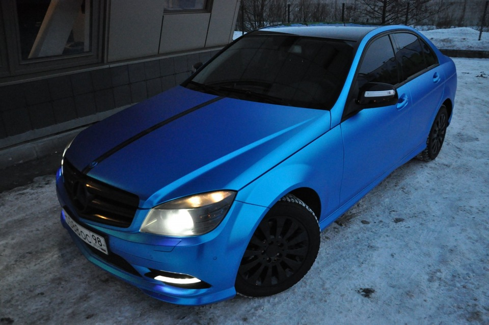 Синий цвет авто фото