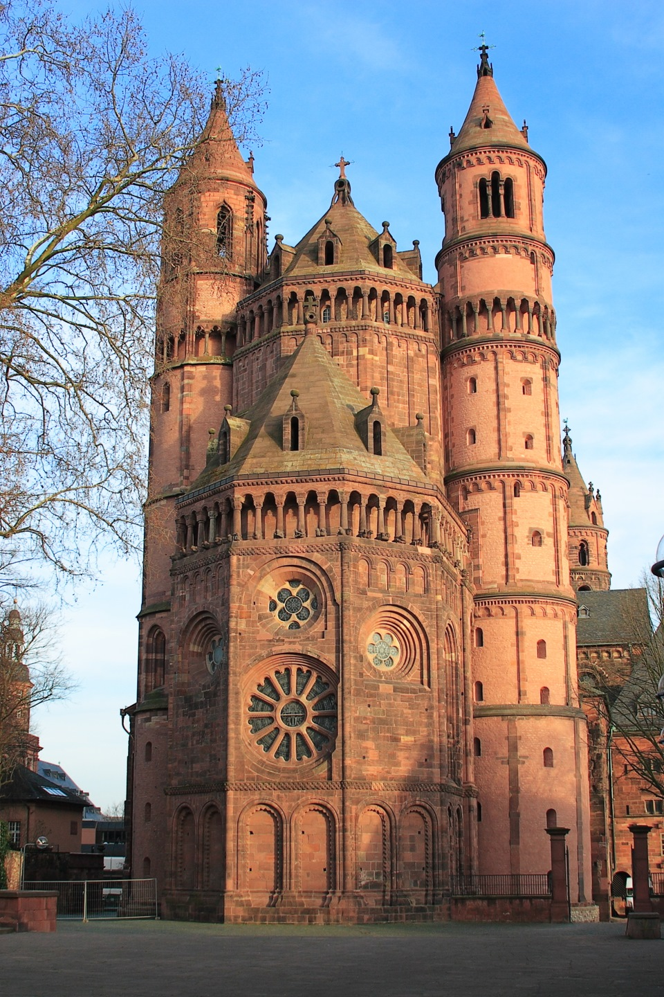 the romanesque period The above architectural technologies had already been developed and incorporated in various instances during the romanesque period, but gothic architecture brought all of these together and thus allowed buildings to substantially increase in height and resulted in an architecture that had a more vertical accent devices such as 'flying .