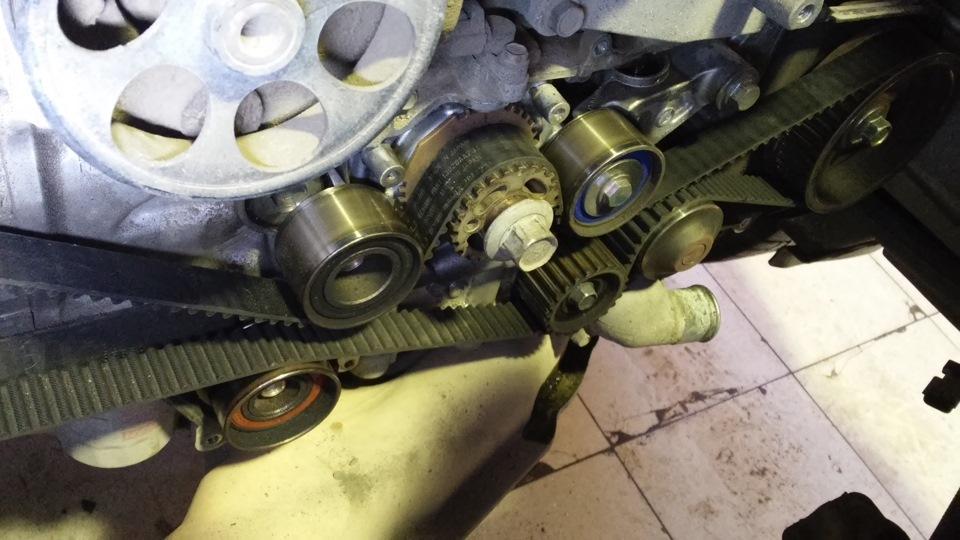 Самостоятельная замена ремня ГРМ на EJ253 - бортжурнал Subaru Outback Исследователь 2006 года на DRIVE2