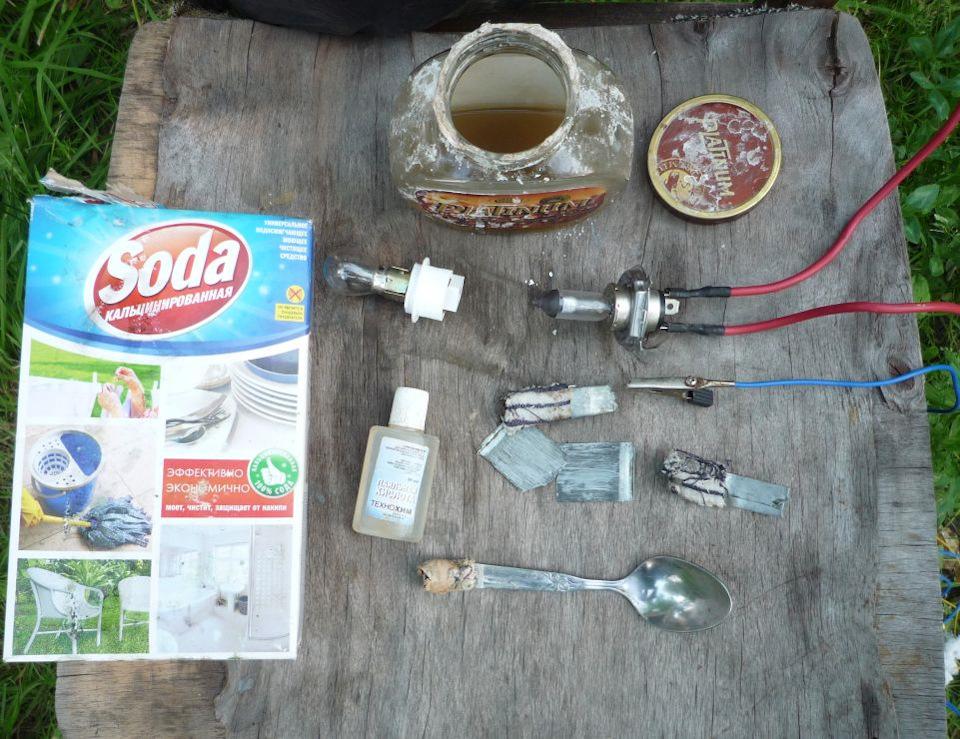 Электролит для цинкования в домашних условиях