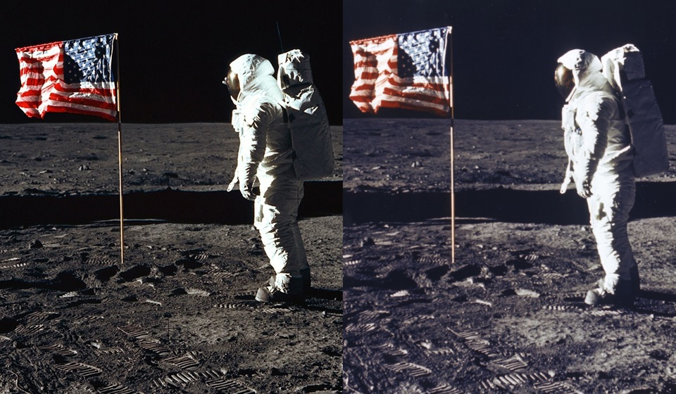 Фото с луны подтверждение присутствия американцев