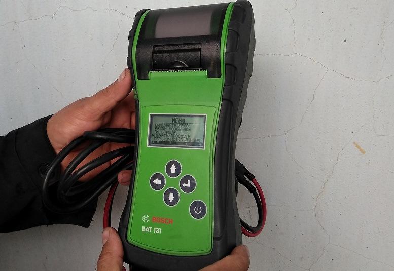 Чем проверить пусковой ток аккумулятора