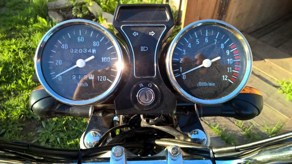 Приборная панель для мотоцикла своими руками 47