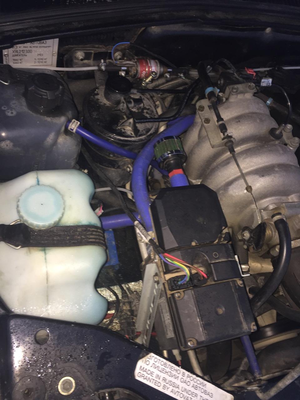Как сделать на ниве двигатель 2.0