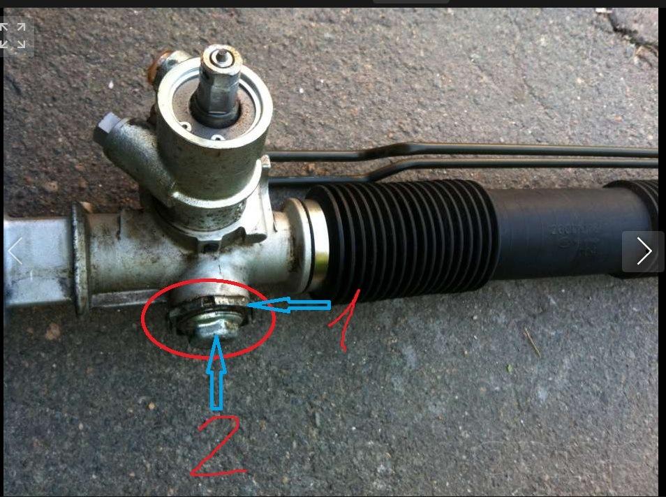 Ремонт рулевой рейки с гур на ланосе своими руками 140
