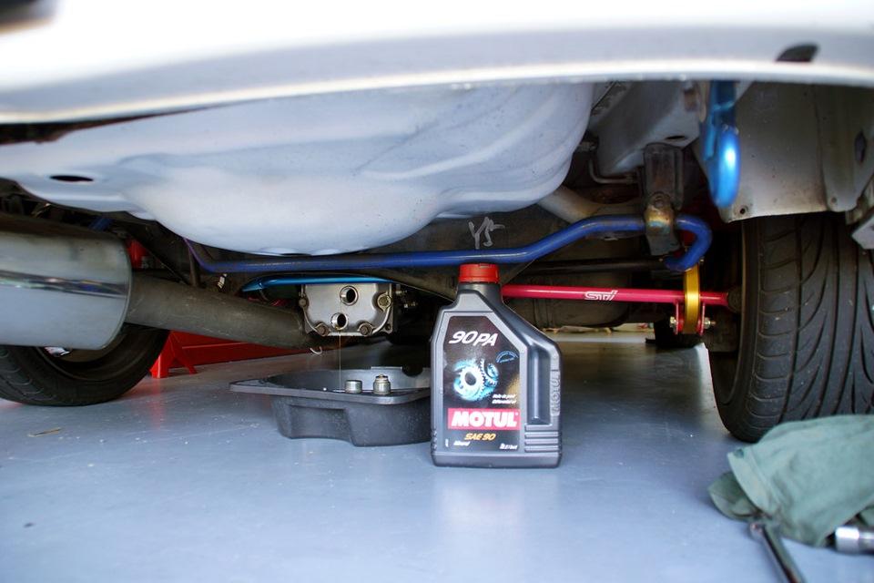 Rear Diff Oil & Coolant — logbook Subaru Impreza WRX STI