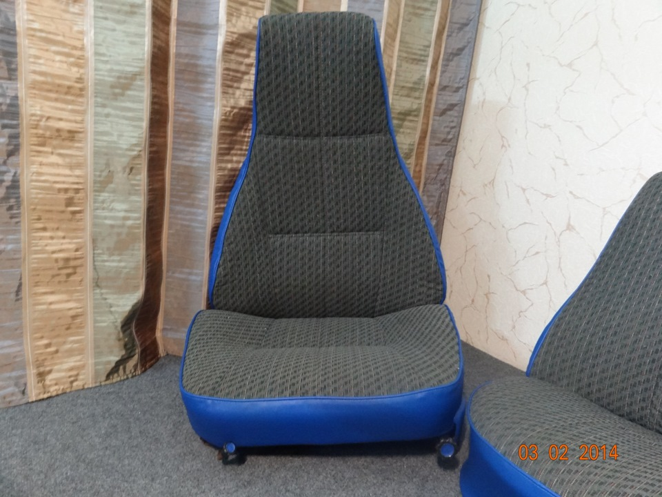 Обивка сидений ваз 2107