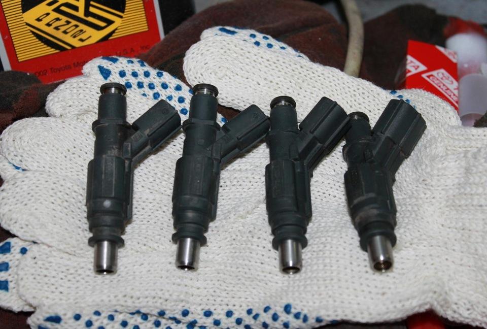 Чистка инжектора короллы