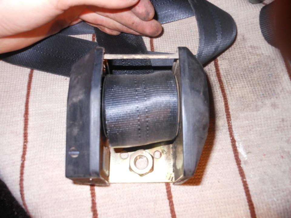 Фото №12 - как отремонтировать ремень безопасности на ВАЗ 2110