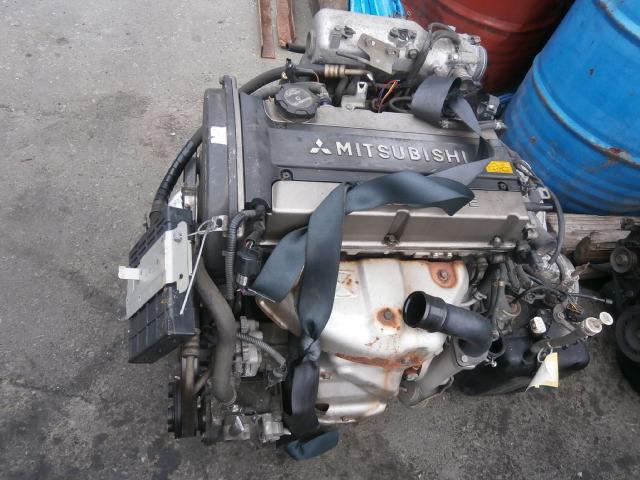фото двигателя 2,4 митсубиси айертрек мивек