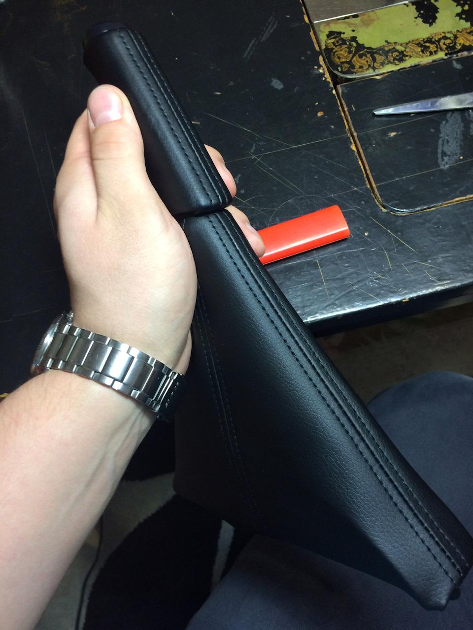 Перетяжка ручки ручника своими руками 68