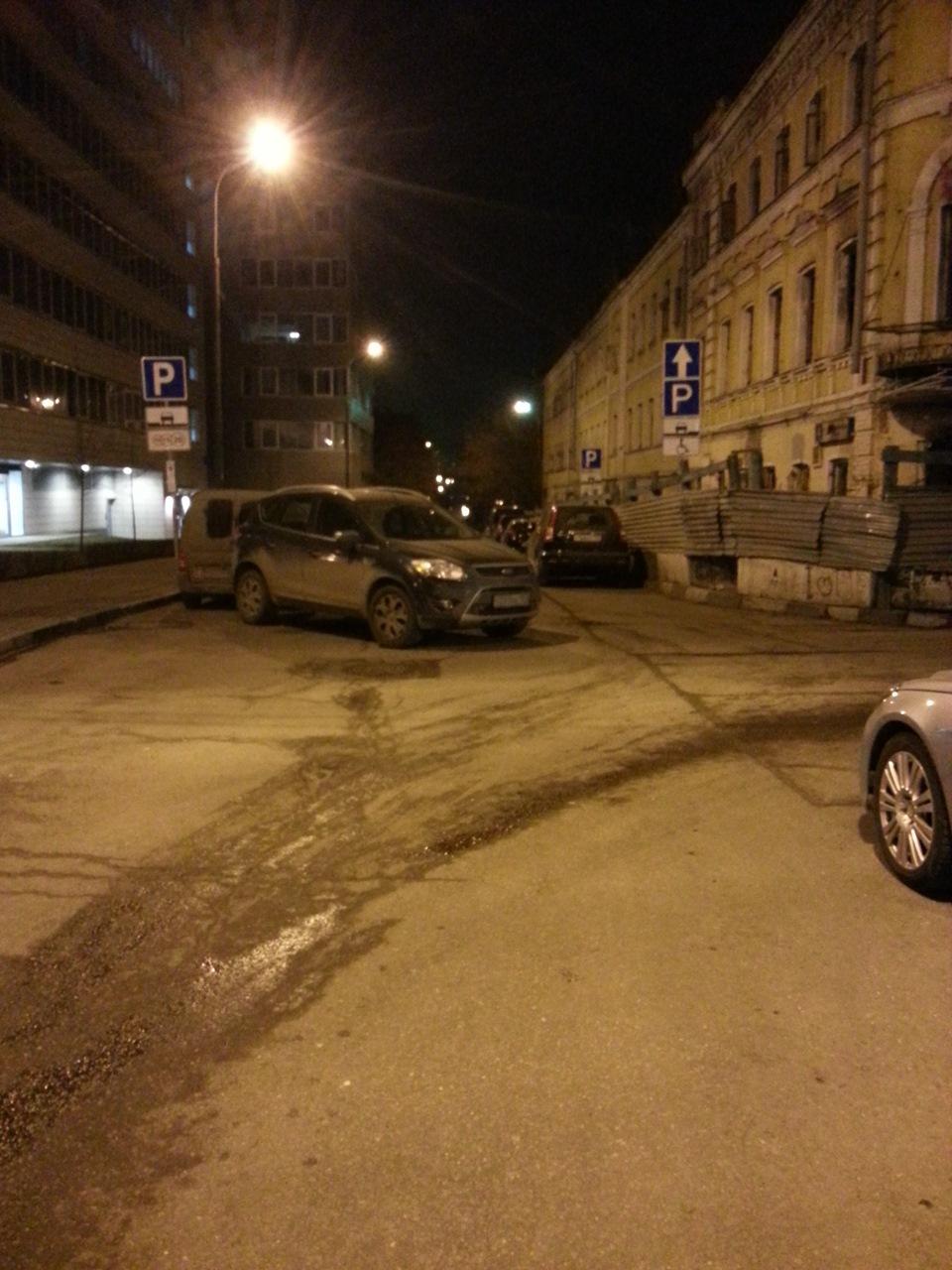 Как паркуются в россии - 6