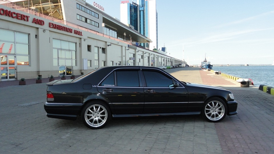 Mercedes benz s class s600 v12 wald styling owner for Mercedes benz s600 v12