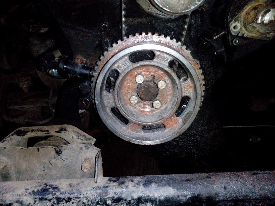Фото №14 - замена шкива коленвала ВАЗ 2110