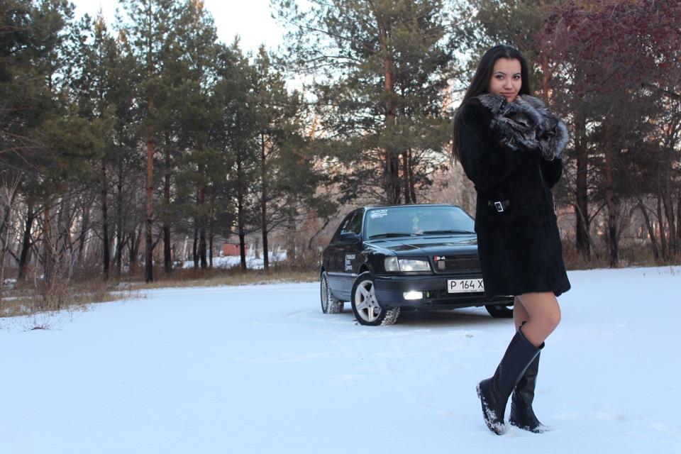 Голые девочки зимой фото 769-387
