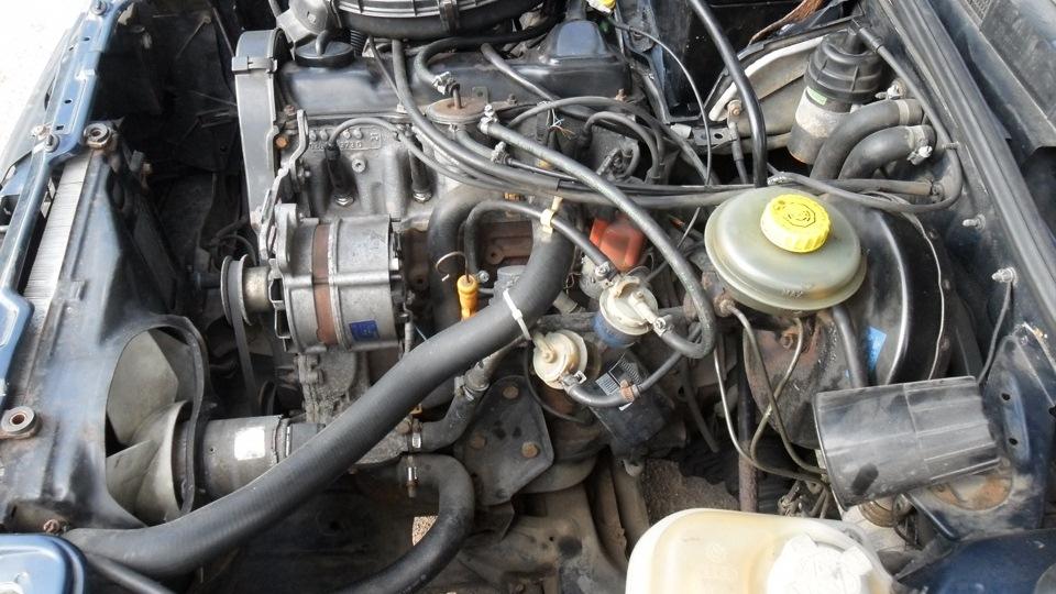 двигатель audi 80 b3 1.8 фотография