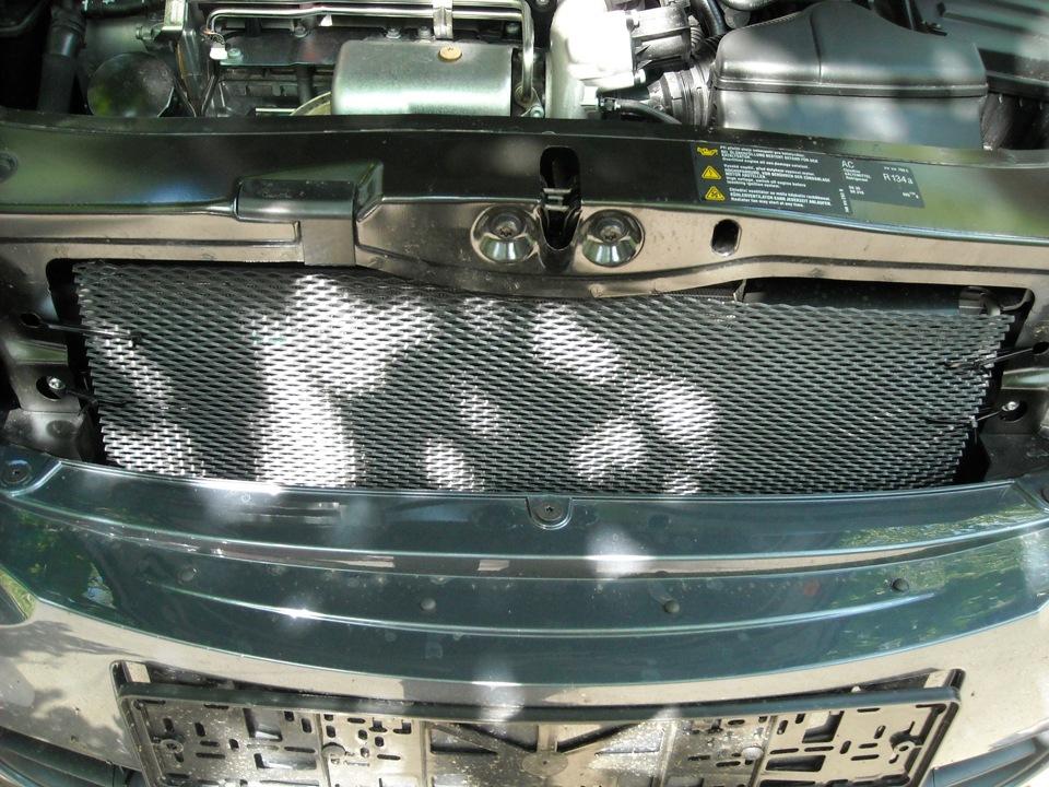 Решетка радиатора октавия а5 своими руками 12