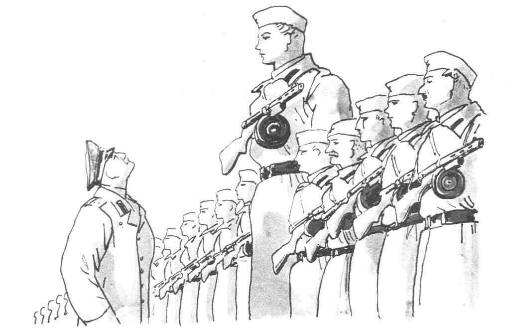 Картинки для срисовки парад