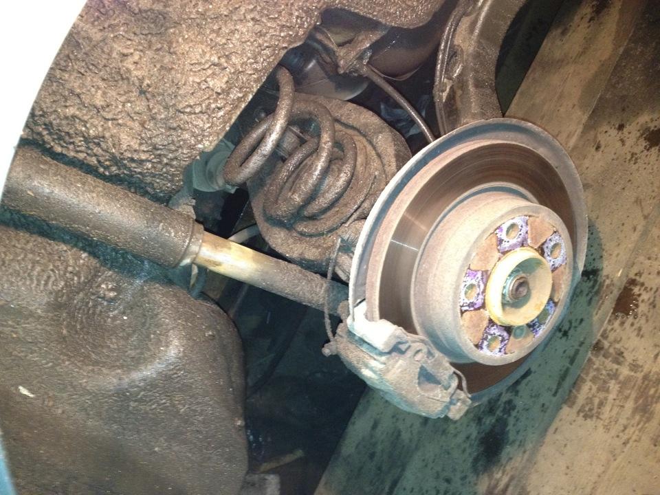 bmw e39 замена тормозных колодок ручника
