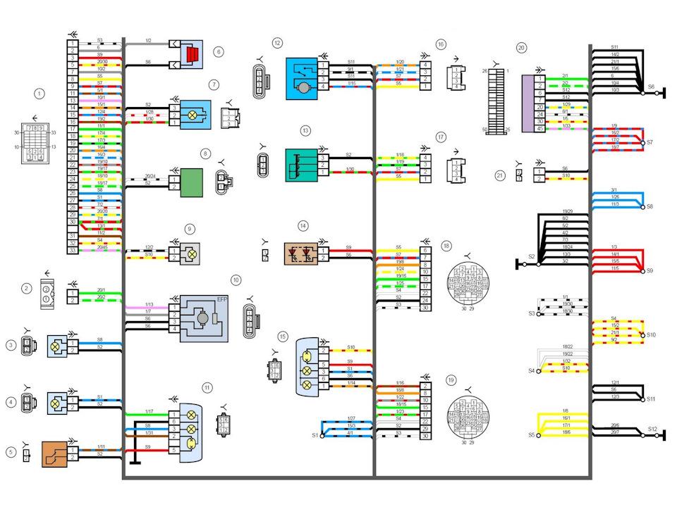 Электрическая схема гранта норма