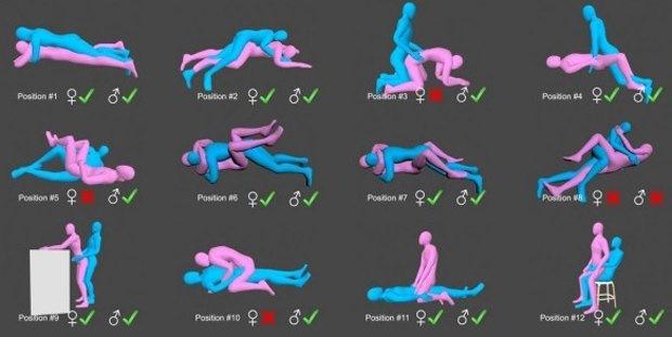 Позы для занятий сексом — pic 8