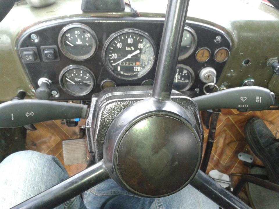 Фото кабины газ 53 внутри своими руками