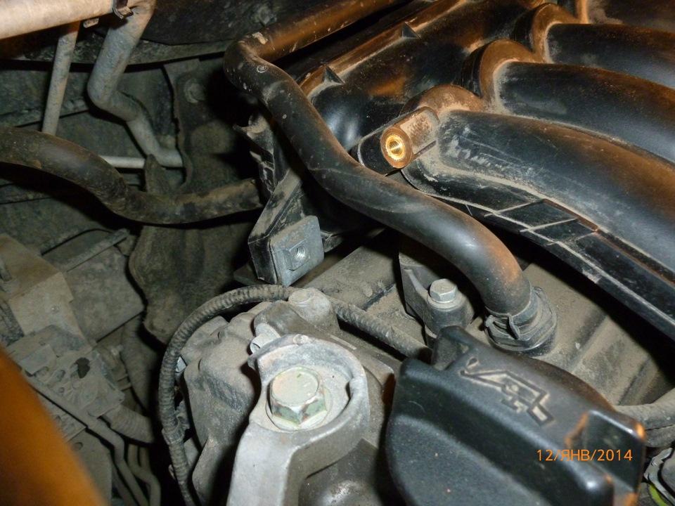 """Замена свечек зажигания на MR20DE (Nissan Qashqai) - Community """"Nissan Club"""" on DRIVE2"""