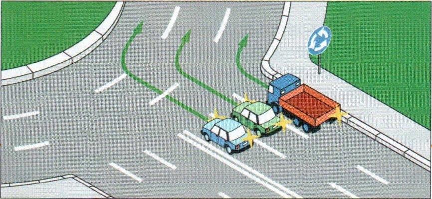 словам указатели поворота на перекрестках с картинками ручной работы