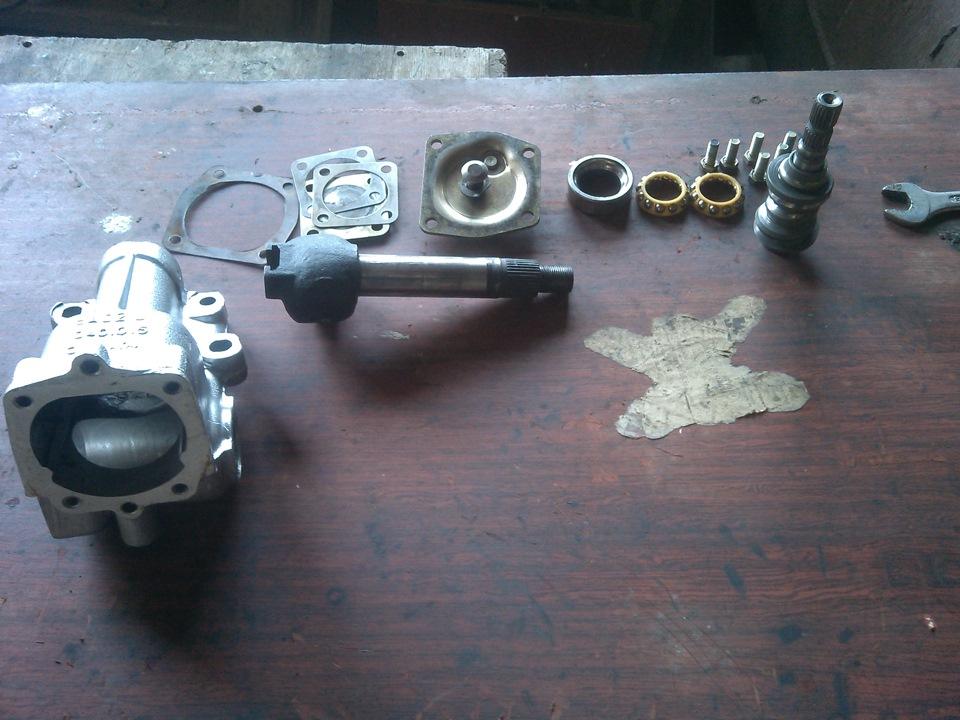 ремонт рулевого редуктора ваз 2106 своими руками