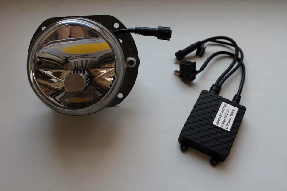 как поменять лампу в птф мерседес мл 164