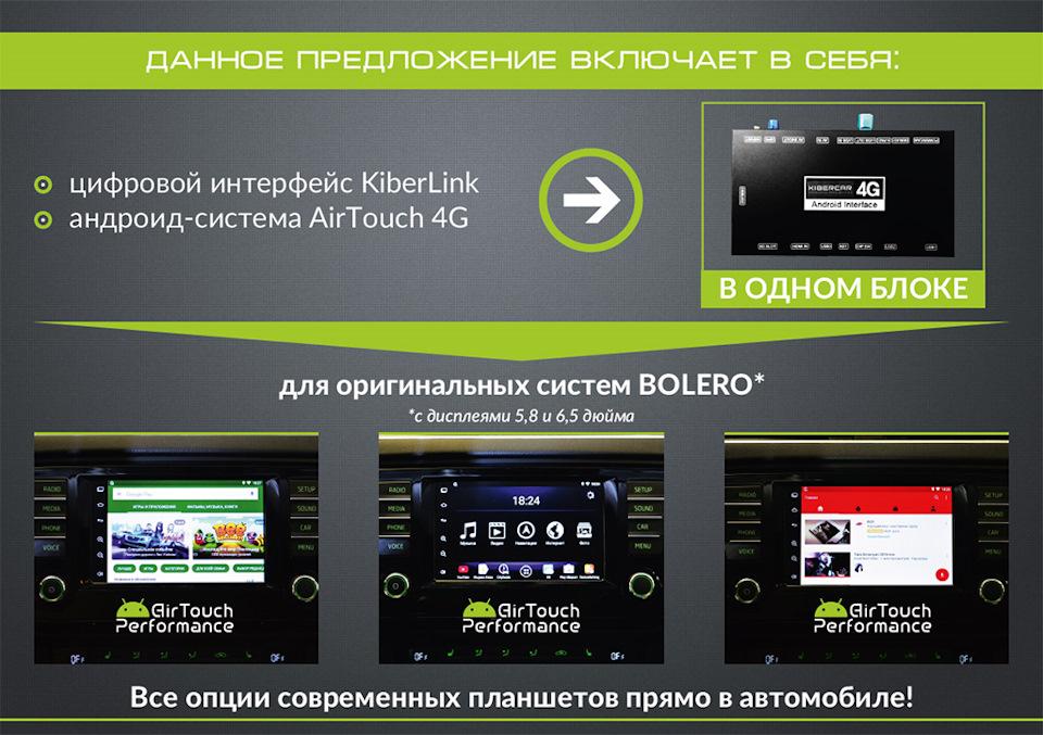 Цифровой интерфейс и система AirTouch 4G — в ОДНОМ блоке!