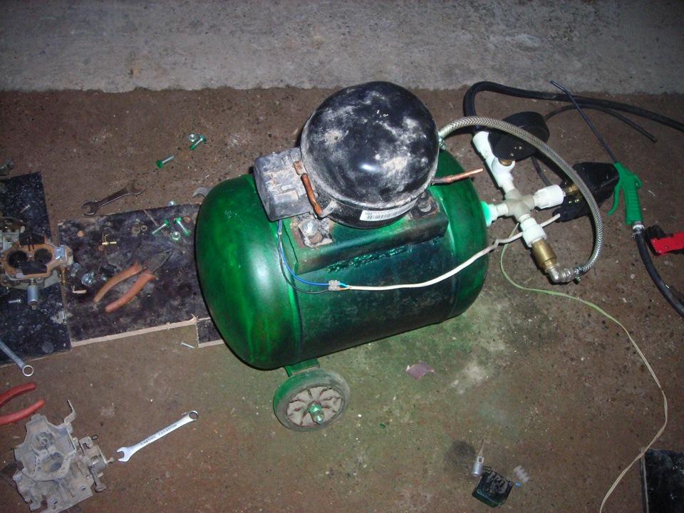 Есть компрессор как сделать керхер