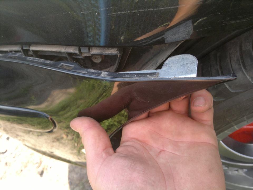 ремонт креплений бампера toyota avensis 2
