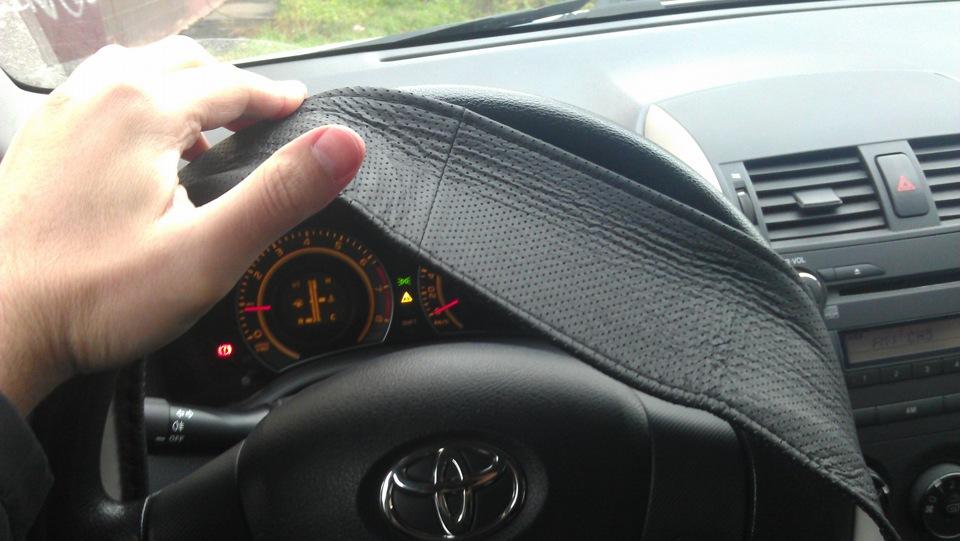 Оплётка на руль №1