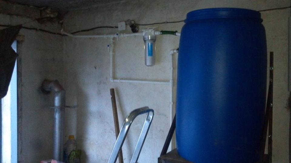 Как сделать воду в гараж 141