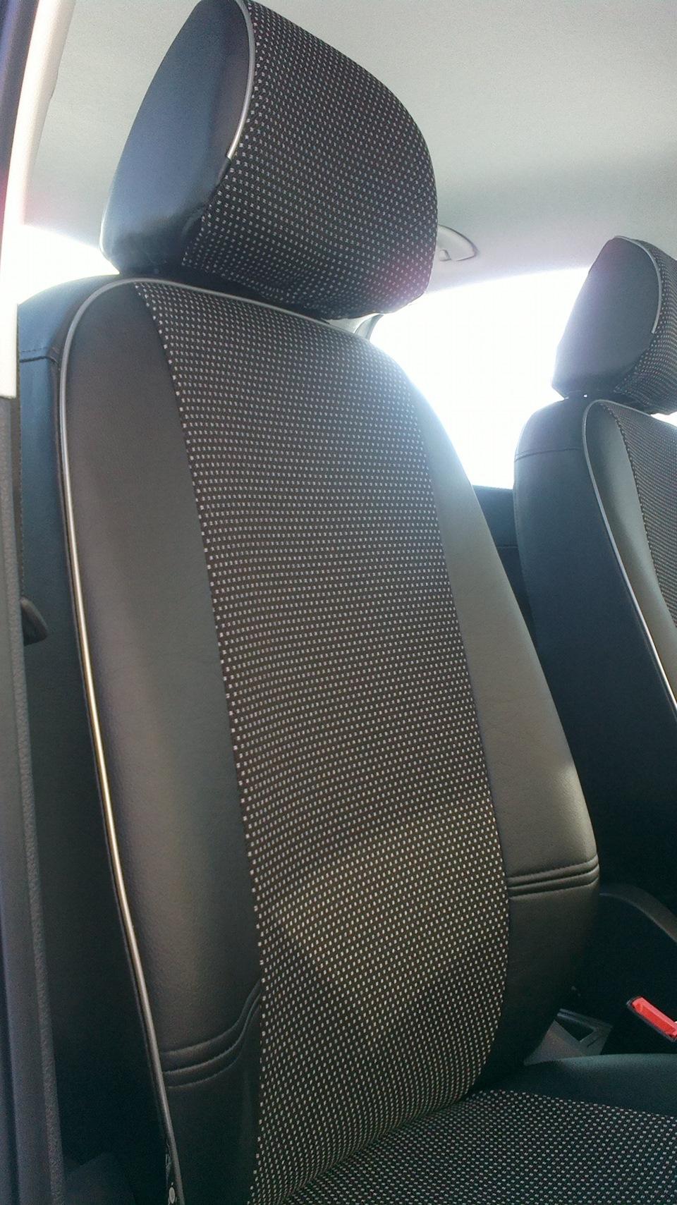 Чехлы на поло седан фото