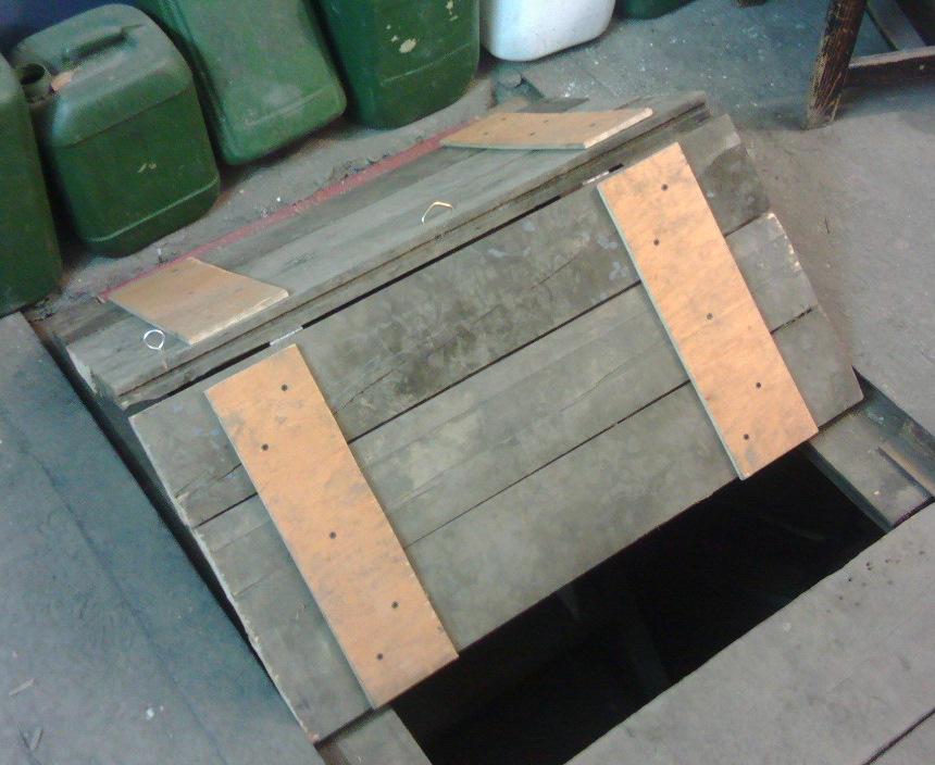 люк в гараж
