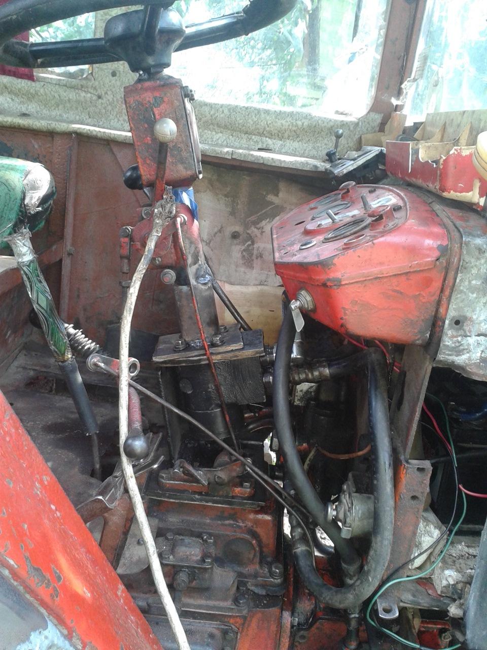 Ремонт своими руками трактора т 25