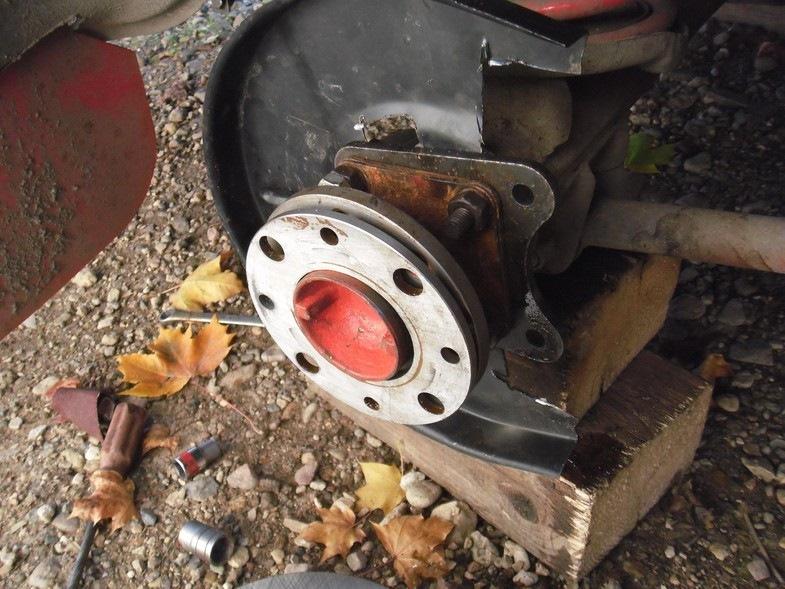 Задние дисковые тормоза на классику как сделать