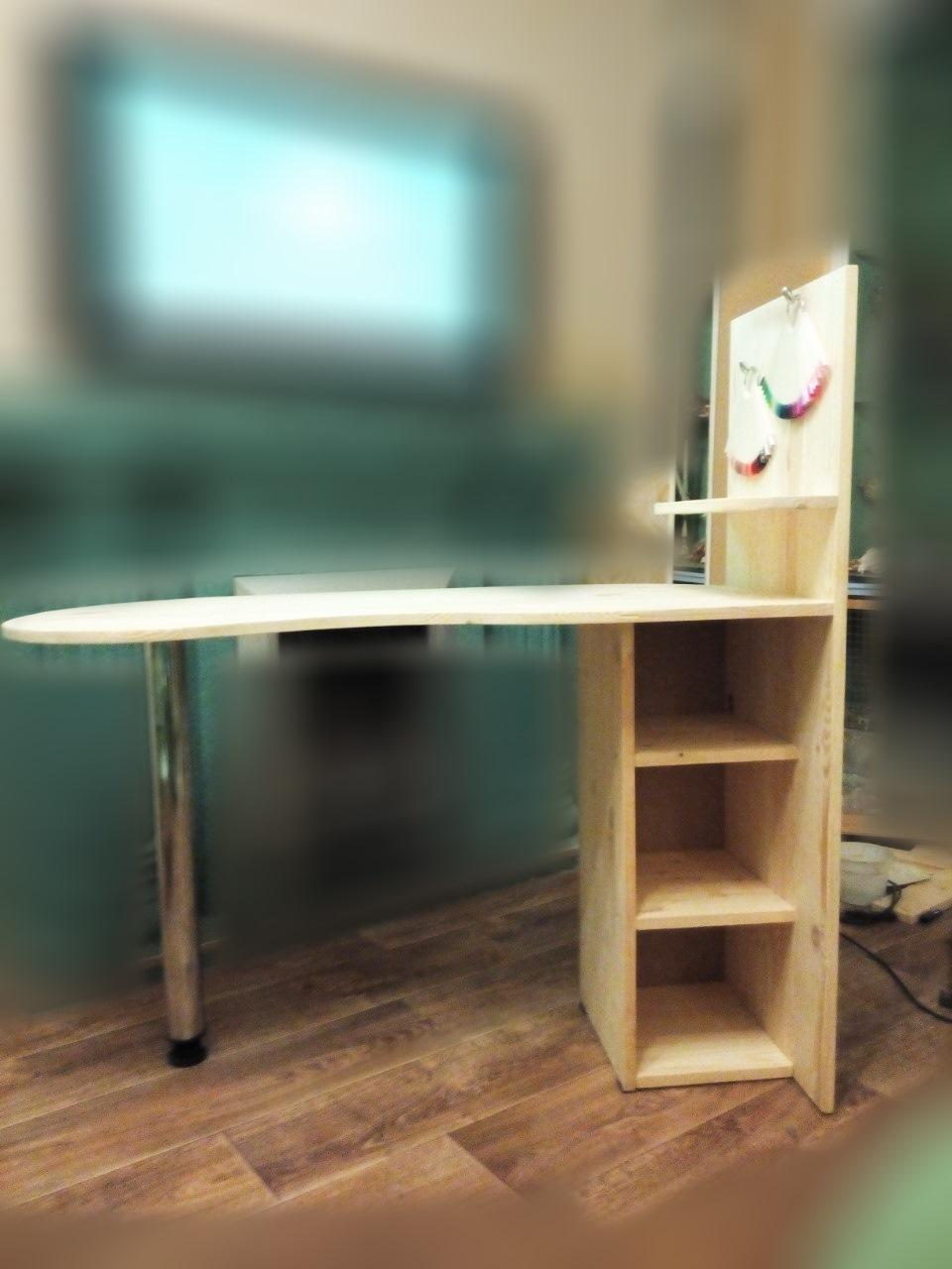 Откидной стол, кухонный стол своими руками. Обеденный 60