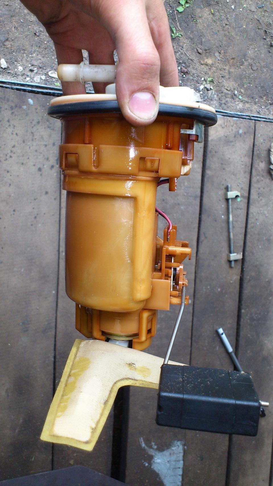 Схема топливного фильтра тойота королла
