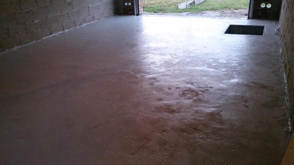 Краска по бетону в гараже купить вибратор для бетона цена москва