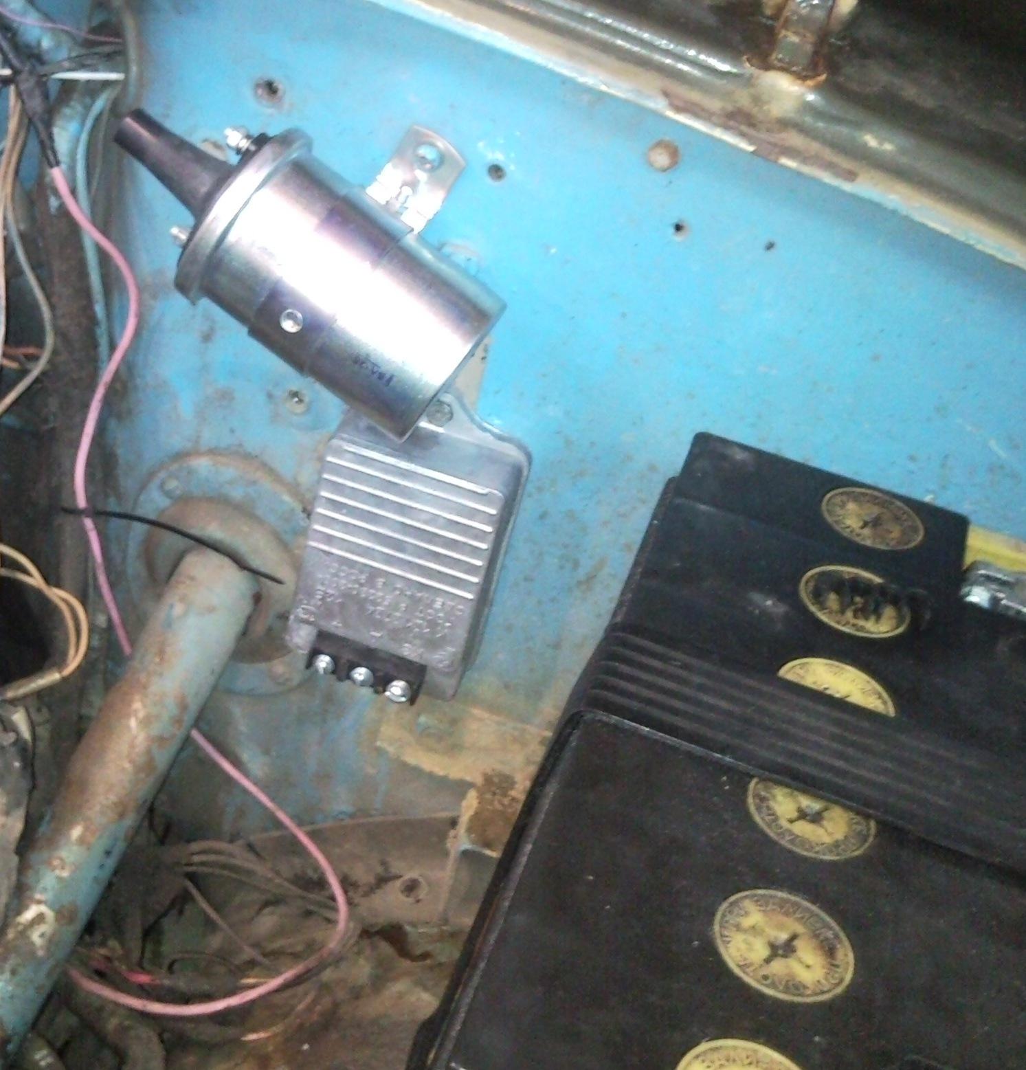 уаз 469 схема с электрозажиганием