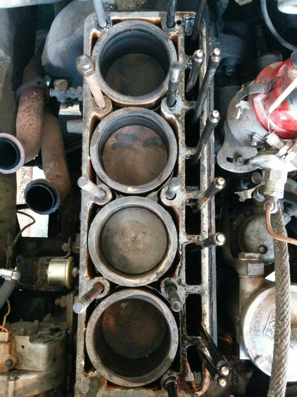 Сборка двигателя змз-402 своими руками фото 415